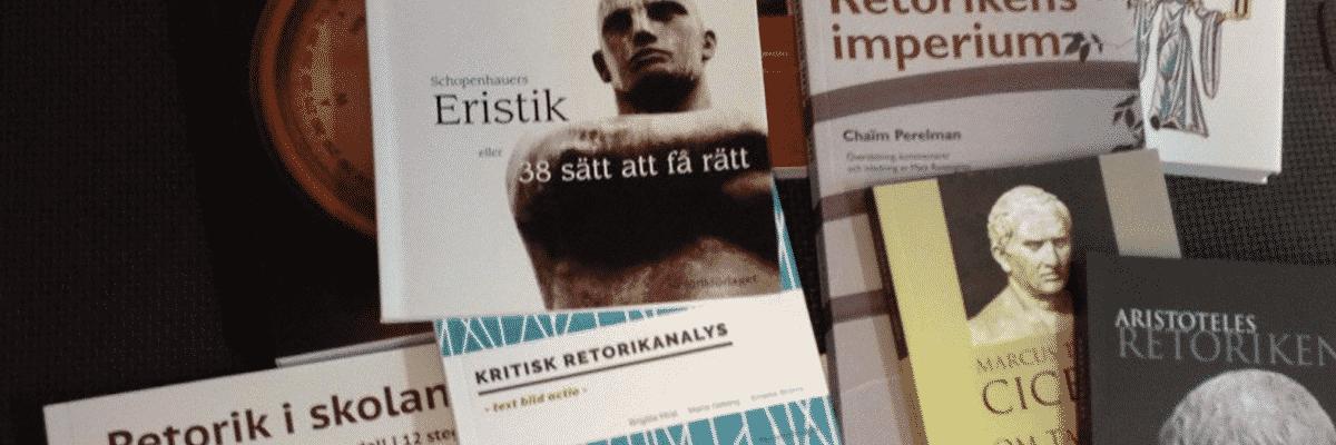 Permalänk till: Retorikböcker