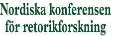 Nordiska Konferensen för RetorikForskning